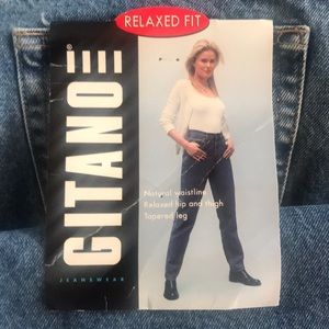 Gitano 80's Vintage Relaxed fit jeans size 18 NWT